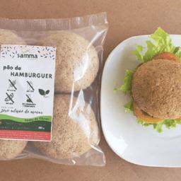 Pão de Hambúrguer sem Glúten Vegano - 380g (Congelado)