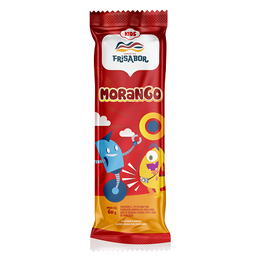 Picolé de Morango