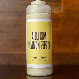 Aioli com Lemon Pepper