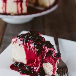 Cheesecake Tradicional - Fatia