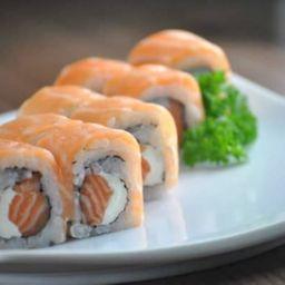 Sushi Salmão Duplo - 4 Peças