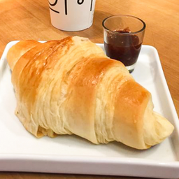 Croissant Recheado Peito de Peru e Queijo Minas