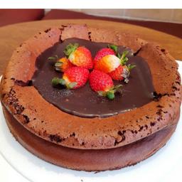 Torta Fudge Zero Açúcar