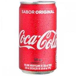 Coca-Cola Refrigerante Lata 220ml