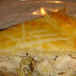 Torta de palmito congelada