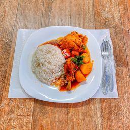 Frango ao Molho + Legumes