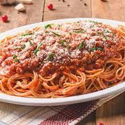 Spaghetti para uma pessoa
