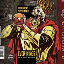 Cerveja everbrew ever kings lata 473ml