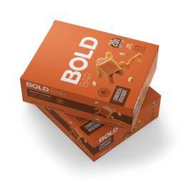 Bold Bar Caramelo e Amendoim - 12 Unidades