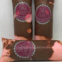 Dindin Morango com Nutella - Sensação