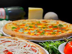 Combo 2 Pizzas Grandes e Refrigerante 2L