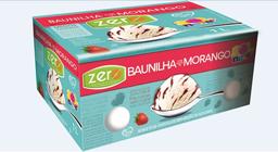 Sorvete Morango com Baunilha Zero 1L