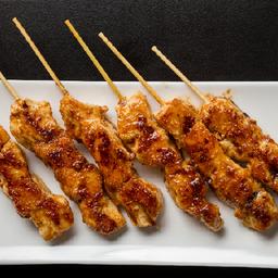 Espetinhos de frango à moda asiática (6 unidades)
