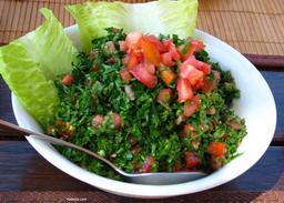 Salada tabule (vegetariano)