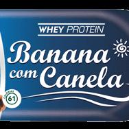 Rochinha whey banana com canela