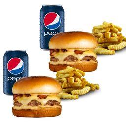 "Combo Cowboy Burger ""Leva 2 Paga 1 """
