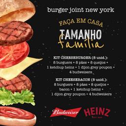 Kit Tamanho Família: Cheeseburger 8 Unidades