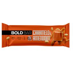 Bold Bar Caramelo e Amendoim - 60g