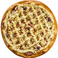 Pizza Del Pizzaiolo com Cream Cheese - Grande
