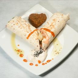 Falafel + pasta homus