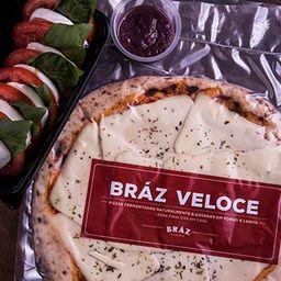 Pizza Veloce Caprese - Bráz