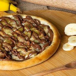 Pizza Banana com Chocolate