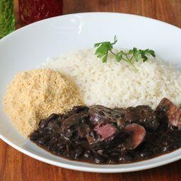 50%OFF Feijoada com arroz e farofa