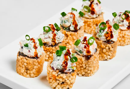 Roll camarão tartar