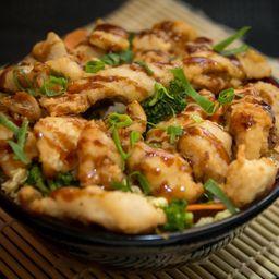 Yakissoba Peixe Empanado