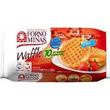 Waffle forno de minas 210g