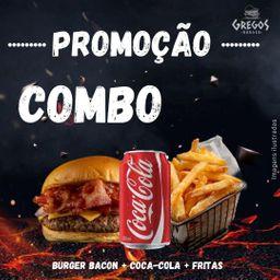 Combo Bacon + Coca-lata + Fritas