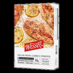 Filé de Peito Limão e Pimenta Wessel 360g (3 unidades)