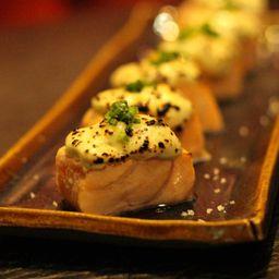 Sashimi Salmão Gorgonzola
