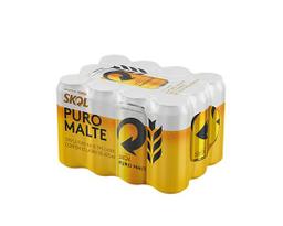 Pack de Skol Puro Malte 473ml