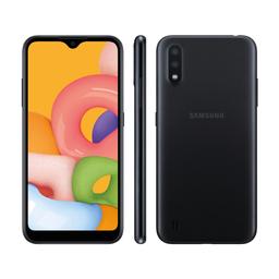 Smartphone Tcell Samsung Galaxy A01 Sm-A015Mzkezto Preto