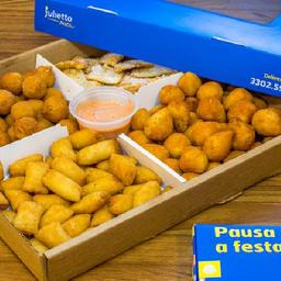 Kit com 100 Salgados