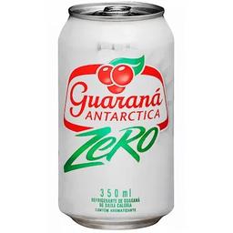 """Guaraná Antarctica """"zero"""" lata 350ml"""
