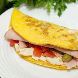 Omelete caprichada