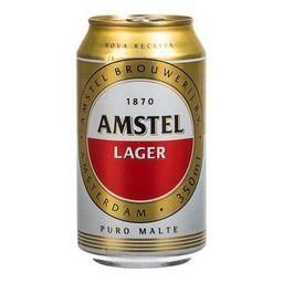 Cerveja Amstel Lager Lata 350ml