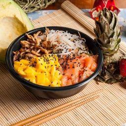 Poke Salmão Spicy I (wasabi)