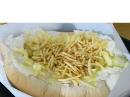 Hot Dog Duplo com Salsicha - 02