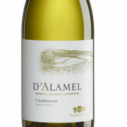 Vinho D'Alamel Chardonnay 2017  - 375ml  (Meia Garrafa)