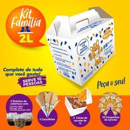 Kit Família Glacial - 2L