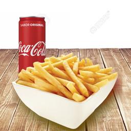Combo Fritas e Coca-Cola Original 310ml