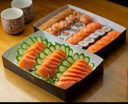 Combinada só salmão (54 unidades)