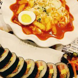 Kimbap + Topokki
