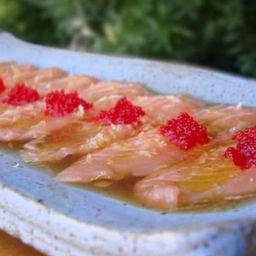 Carpaccio salmão especial