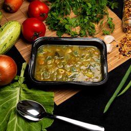 Sopa Low Carb de Frango