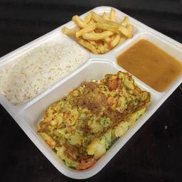 Comercial Omelete de Legumes