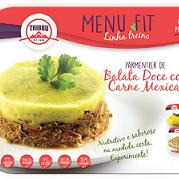 Parmetier de Batata Doce com Carne Mexicana - 300g